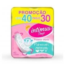 Protetor Diário Intimus Days Flexível 40 Unidades -