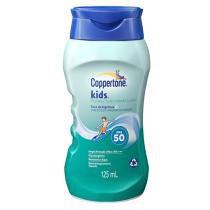 Protetor Solar Coppertone Kids FPS 50 125ml - BAYER