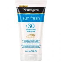 Protetor Solar Corporal Neutrogena FPS 30  - Sun Fresh Aqua Light 120ml