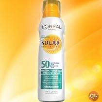 Protetor Solar Loreal Spray Aerosol Fps 50 Sem Álcool 200ml - LOréal