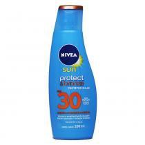 Protetor Solar Protect e Bronze Sun  FPS 30 200ml - Nivea - Nivea