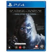 Ps4 terra media : sombras de mordor goty - Jogos playstation 4