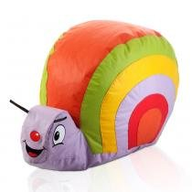 Puff caracol infantil - colorido - Stay puff