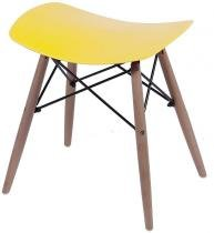 Puff Charles Eames 1141 Polipropileno Amarelo - 33764 - Sun House