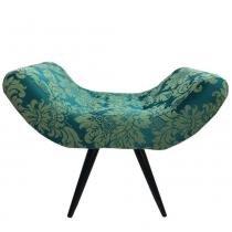 Puff Decorativo Elegance 21 Verde - Sua casa decor