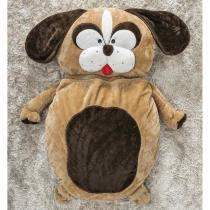 Puff Gigante para Dormir Pelúcia Cachorro Grande com 1 peças - Casa sua beleza
