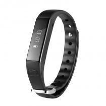 Pulseira Active Slim Preta Com Bluetooth Es107 Átrio -