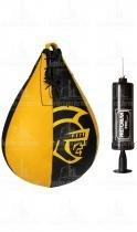 Punching Ball - Speed Ball de Couro Profissional Com Bomba Original - Pretorian - Pretorian