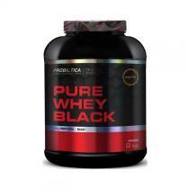 Pure whey black 2kg - morango - Probiótica