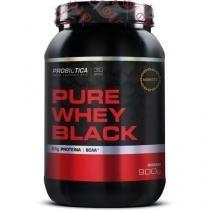 Pure Whey Black - 900g - Probiótica - Morango - Probiótica