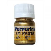 Purpurina em Pasta Ouro Rico 50g - Glitter -