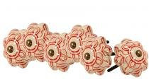 Puxador de Cerâmica Dublin - Conjunto 6 unidades - Maria Pia Casa