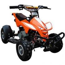 Quadriciclo Automático Barzi Motors Dino - à Gasolina 49cc Laranja