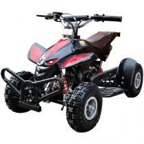 Quadriciclo Automático Barzi Motors Dino - a Gasolina e Óleo 49cc Preto