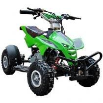 Quadriciclo Automático Barzi Motors Dino - a Gasolina e Óleo 49cc Verde