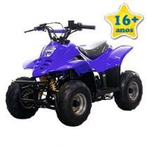 Quadriciclo Bull Motors BK ATV504 - à Gasolina à Óleo 50cc Azul