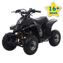 Quadriciclo Bull Motors BK ATV504 - à Gasolina à Óleo 50cc Preto
