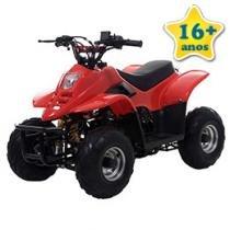 Quadriciclo Bull Motors BK ATV504 - à Gasolina à Óleo 50cc Vermelho