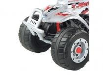 Quadriciclo Corral T-Rex Prata 12V - Peg-Pérego - Burigotto