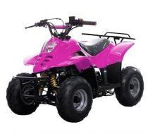 Quadriciclo Elétrico 110cc - Pink -