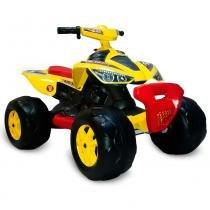 Quadriciclo Elétrico - 12V - Amarelo - Bandeirante -