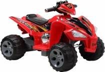 Quadriciclo Elétrico Infantil 12V Vermelho - Bel Brink - Bel Brink