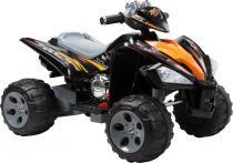 Quadriciclo elétrico infantil preto12v bel brink - PRETO - Bel brink