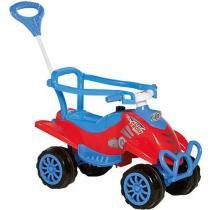 Quadriciclo Infantil a Pedal Cross Kids Vermelho 970 Calesita -