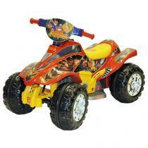 Quadriciclo Infantil Elétrico Dakkar Red - Biemme
