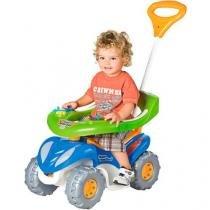 Quadriciclo Super Confort Completo Azul/Branco/Verde 942 Calesita -