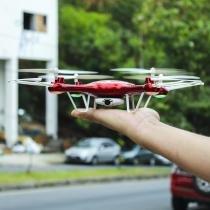 Quadricóptero com Câmera Wifi 4 canais Controle Remoto - Zein - Zein
