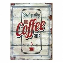 Quadro Best Quality The Coffee Shop 40x30 - The Home - The Home