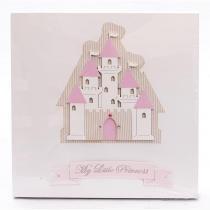 Quadro  Castelo Princess - ÚNICO - ATELIE BABY SHOP