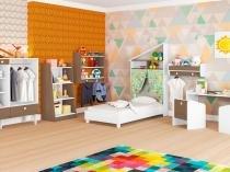 Quarto Completo Solteiro Art In Móveis Infantil - Montessoriano