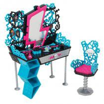 Quartos de Arrepiar Monster High - Hora da Maquiagem da Frankie - Mattel - Mattel