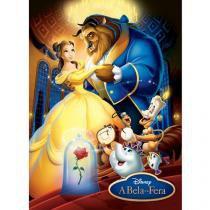 Quebra-Cabeça 100 Peças Disney A Bela e a Fera - Grow