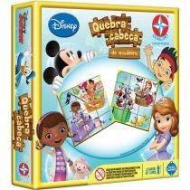 Quebra-Cabeça 12 Peças Disney Junior - Estrela