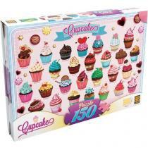 Quebra-Cabeça 150 Peças Cupcakes - Grow