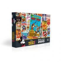 Quebra-cabeça 2000 peças mickey mouse posters 2428 Toyster