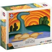 Quebra-cabeça 2000 Peças Tarsila do Amaral - Estrela