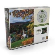 Quebra-cabeça 500 peças outono nos alpes grow 3407 -
