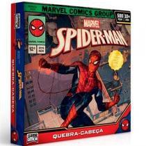 Quebra-Cabeça 500 Peças Spider-Man Game Office - Toyster - Toyng Brinquedos