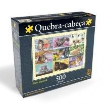 Quebra-cabeça adoraveis gatinhos p500 grow 02880 -