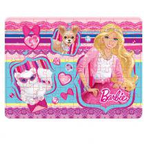 Quebra-Cabeça Barbie Renda - 100 Peças - Mattel - Mattel