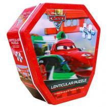Quebra-Cabeça Carros 2 3D 24 Peças - Yellow
