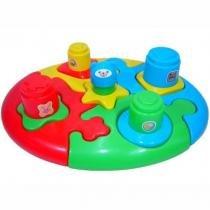 Quebra Cabeça Didático Duo Baby Puzzle - Calesita -