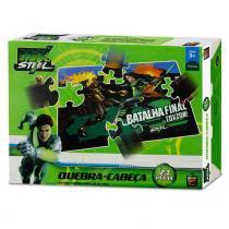 Quebra-Cabeça - Max Steel - Toxzon - 24 Peças - Mattel - Mattel