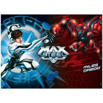 Quebra-Cabeça Max Steel vs Miles Dredd - 100 Peças - Mattel - Mattel