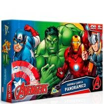 Quebra-Cabeça Panorâmico Avengers 250 Peças - Toyster - Toyster