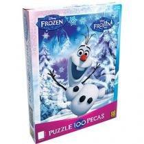 Quebra Cabeça Puzzle 100 peças Frozen - Grow - Grow